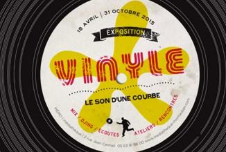 Exposition vinyle : le son d'une courbe, à Montauban.