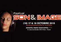 Festival Son et Image 2015, au Novotel Tour Eiffel, à Paris.