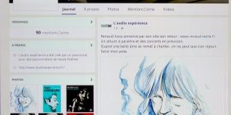 L'audioexpérience est aussi sur Facebook.