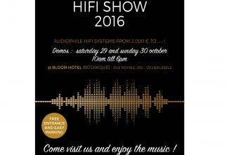 HIFI Show 2016 à Bruxelles