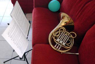 « J'aime le son du cor, le soir au fond des bois ».