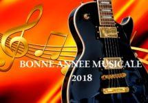 Bonne Année Musicale 2018.