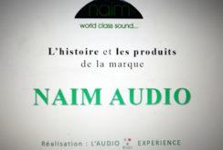 NAIM AUDIO. Diaporama sur son histoire et ses produits.