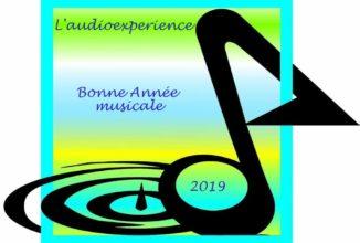 Bonne année musicale 2019.